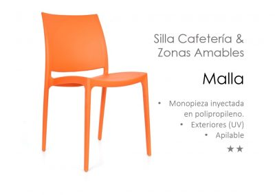 Silla Cafeteria & Zonas Amables