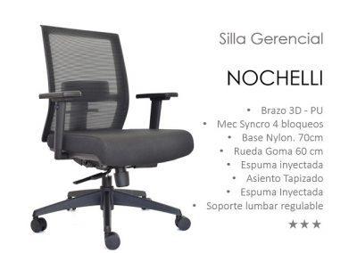 4. Silla Gerencial - Jefe - Nochelli Gerente