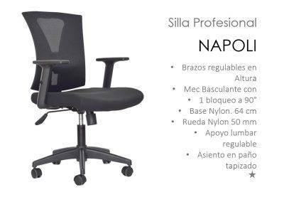 Silla ergonómica Operativa - Profesional Napoli